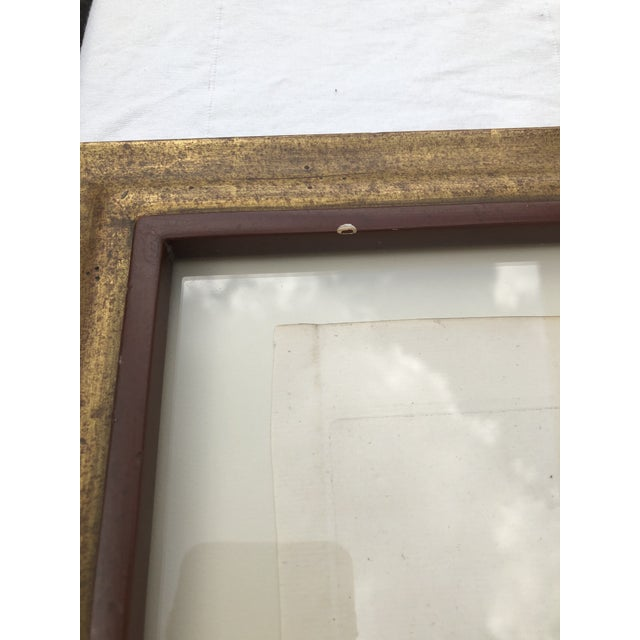 Framed Antique Engravings of Francis Seymour-Conway and George Lytteltons' Coat of Arms - a Pair For Sale - Image 9 of 13