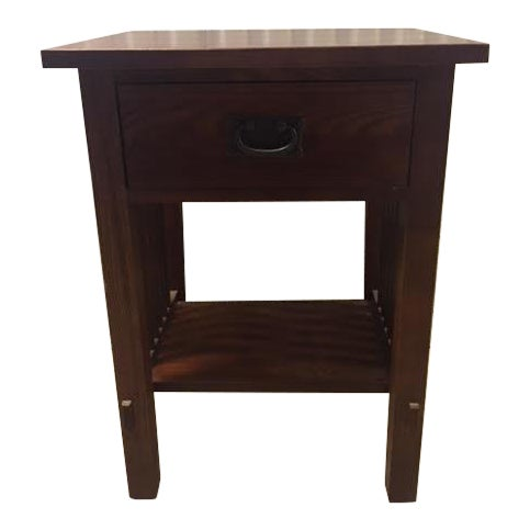 Durham Mission Style Nightstand For Sale