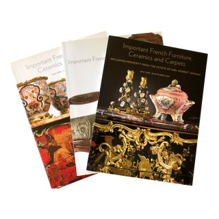 Sotheby's Catalogs of French Interiors - Set of 3 For Sale