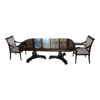 Ej Victor Formal Dining Table & Chairs For Sale