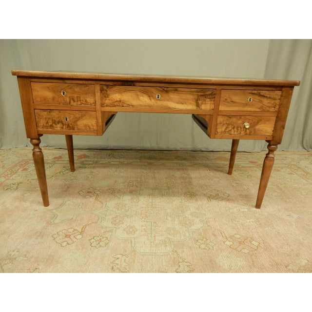 19th C. French Leather Top Desk For Sale - Image 12 of 12