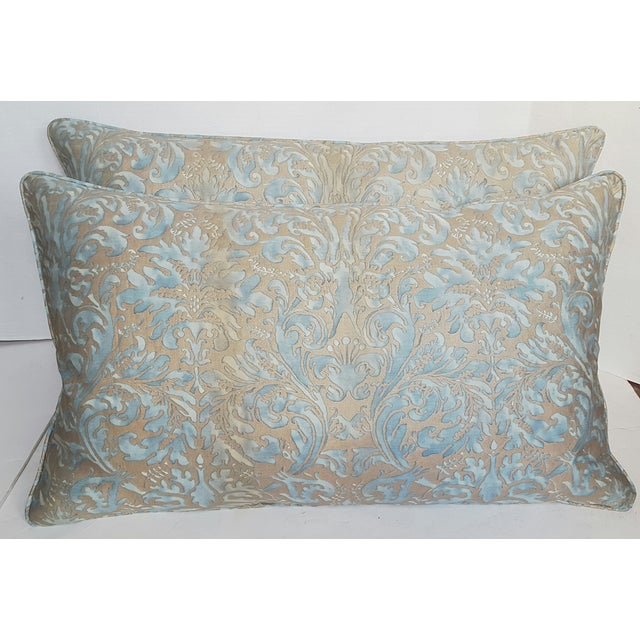Mariano Fortuny Pillows - A Pair - Image 2 of 4