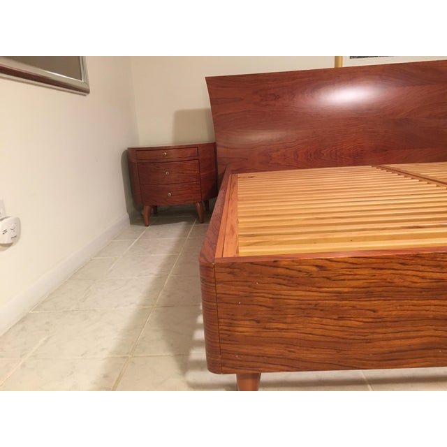 Maurice Valency King Size Bed & Two Night Stands - Image 7 of 11