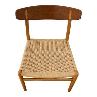 Mid Century Modern Hans Wegner Ch23 Dining Desk Chair For Sale