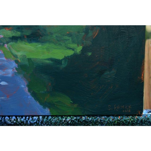 """Paint """"Back Road in Vermont"""" Painting by Stephen Remick For Sale - Image 7 of 11"""