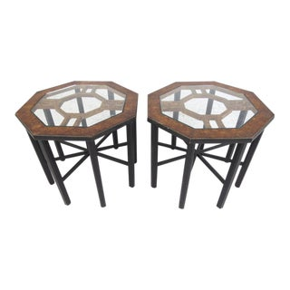 Pair Mastercraft Style End Tables