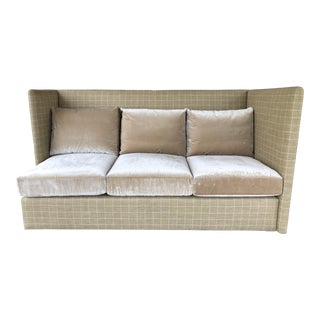 Custom High Back Sofa