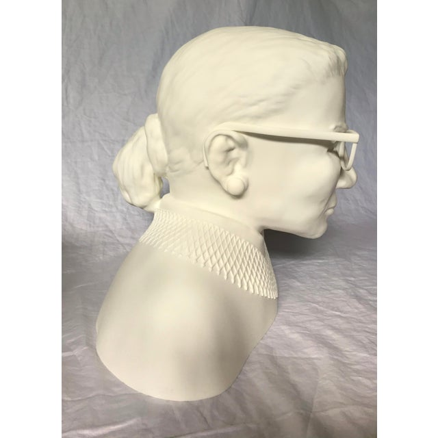 Figurative Ruth Bader Ginsberg Bust For Sale - Image 3 of 11