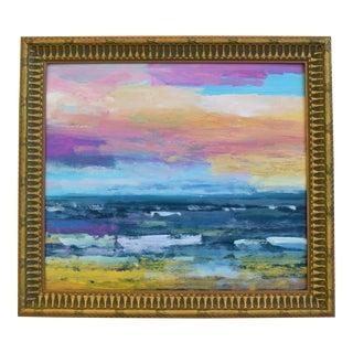 Original Juan Pepe Guzman California Seascape Oil Painting For Sale