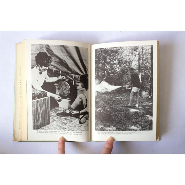 """Blue 1971 Vintage """"Camping in Comfort"""" Camping Book For Sale - Image 8 of 10"""