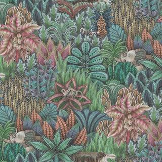 Cole & Son Singita Botanical Style Wide Wallpaper Sample For Sale