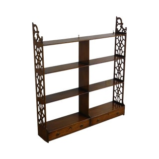 Kittinger Colonial Williamsburg Collection Mahogany Hanging Shelf Cw-37 For Sale