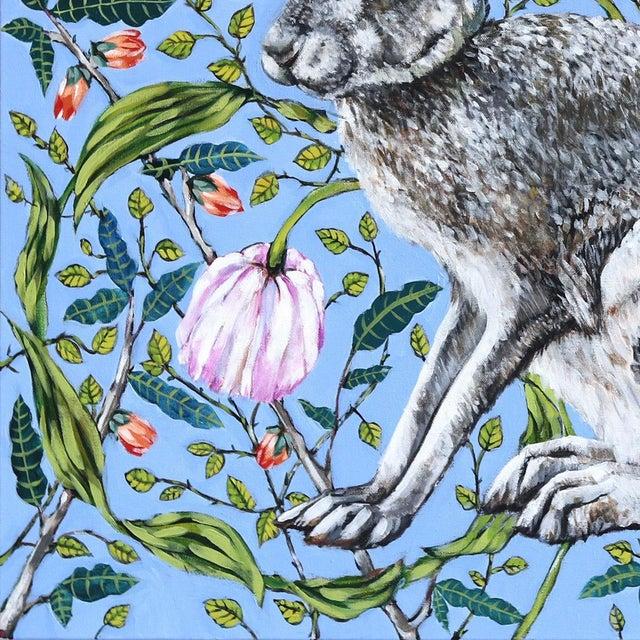 """Jack Rabbit"" Original Artwork by Naomi Jones For Sale - Image 4 of 9"