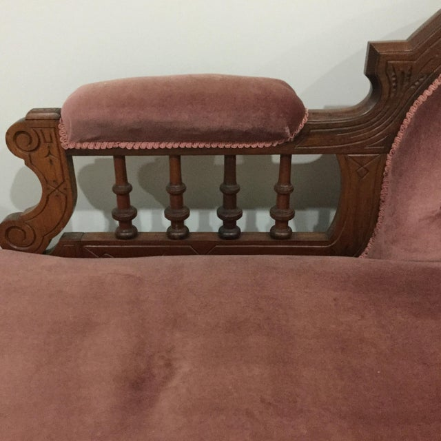 Antique Victorian Fainting Couch Chairish