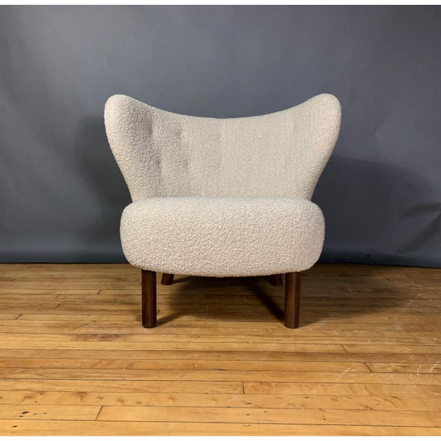 "Viggo Boesen Viggo Boesen, ""Little Petra"" Lounge Chair, Designed 1938 For Sale - Image 4 of 11"