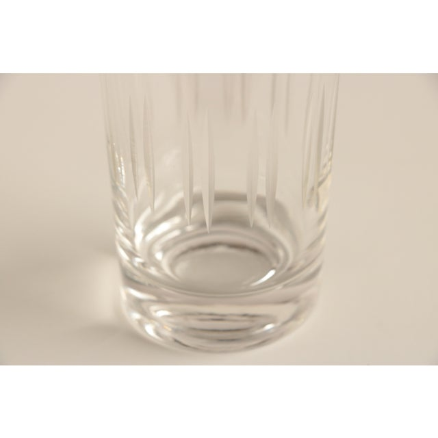 Mid-Century Modern Dorothy Thorpe Style Etched Glasses - Set of 6 For Sale - Image 3 of 5