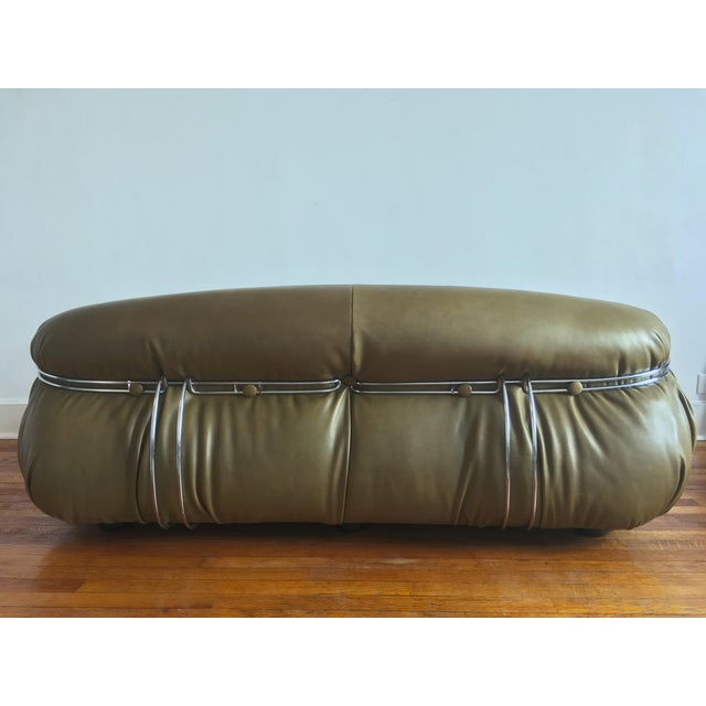 Cassina 1970s Soriana Sofa by Afra & Tobia Scarpa for Cassina For Sale - Image 4 of 13