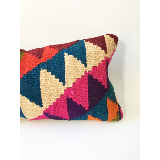 Vintage Kilim Lumbar Pillow - Image 4 of 5