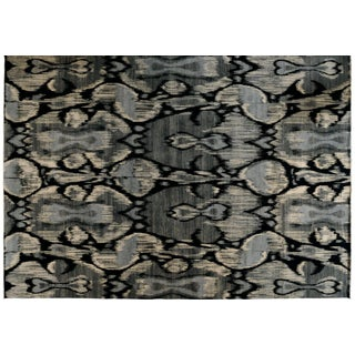 "Stark Studio Rugs Contemporary Ikat Rug - 10'2"" X 14'6"" For Sale"