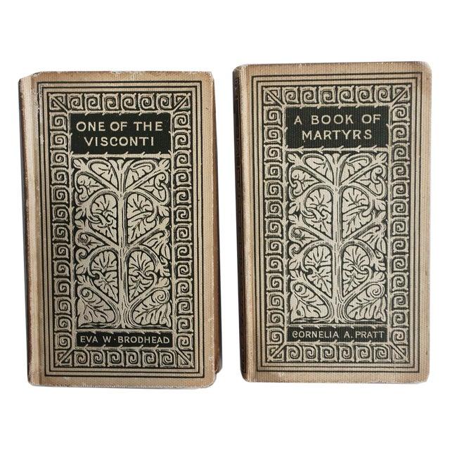 Vintage Decorative Books - Pair - Image 1 of 3