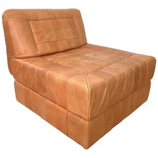 Percival Lafer Patchwork Leather Chair or Ottoman For Sale