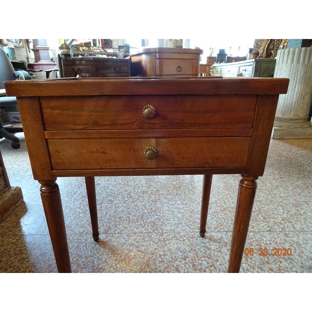 French French Marble Side Table For Sale - Image 3 of 13