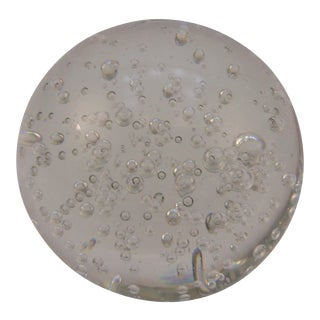 Vintage Control Bubble Paperweight For Sale