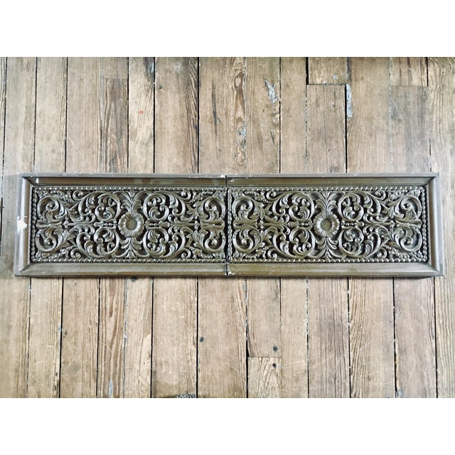 Wood Carved Oak Architectural Frieze For Sale - Image 7 of 7