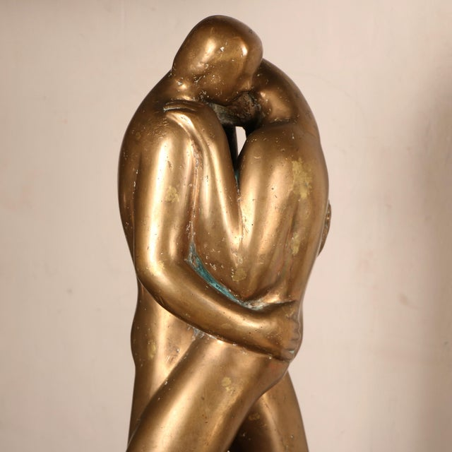 Lovers Sculpture by Louis Derbré - Image 4 of 11