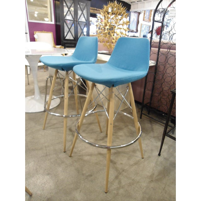 Pera MV Barstool by SohoConcept Furniture - A Pair - Image 4 of 8