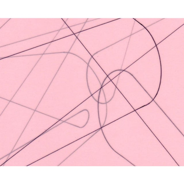 """Abstract Richard Caldicott """"Untitled 2006"""", Drawing For Sale - Image 3 of 4"""