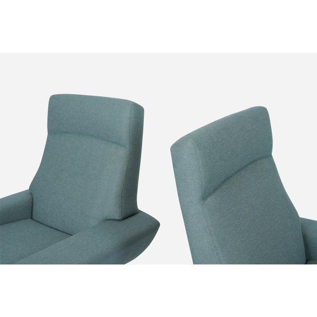 Trensum Capri Swivel Chairs by Johannes Andersen for Trensum, 1958 For Sale - Image 4 of 7