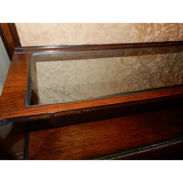 Mid-Century Glass Front China Display Cabinet - Image 9 of 11