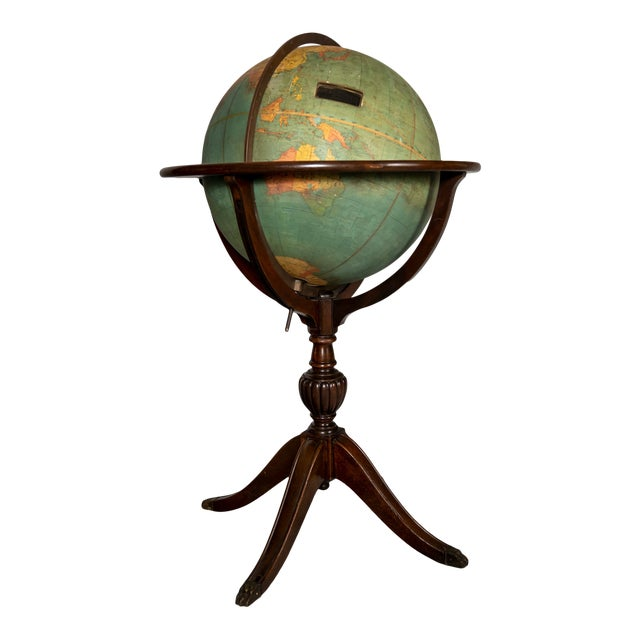 Early 1900's Williams-Pridham Index Globe For Sale