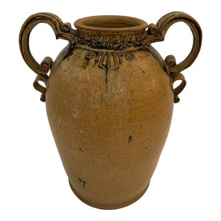 Handcrafted Pottery Urn or Vessel For Sale
