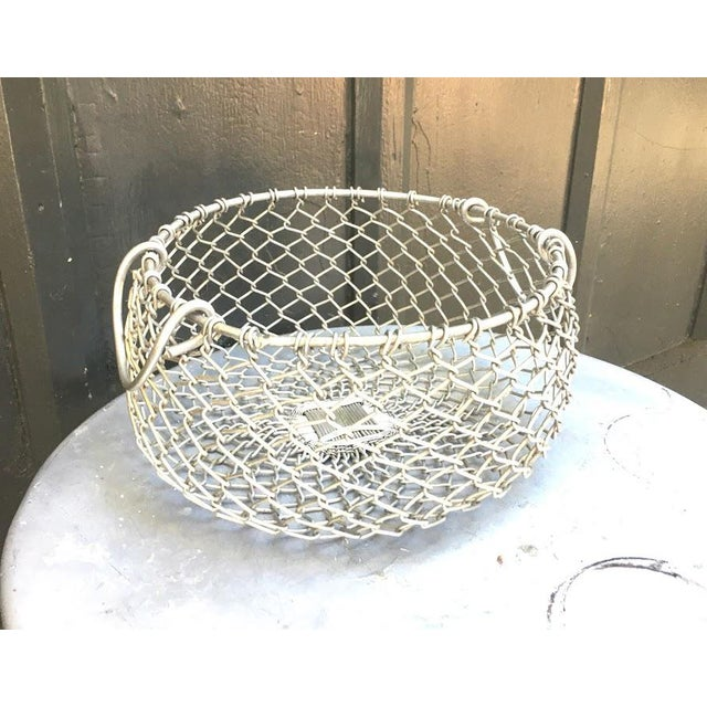 Silver Chain Hanging Plant Basket For Sale - Image 6 of 6