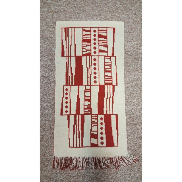 Handmade Finnish Mid-Century Tapestry Wall Hanging For Sale In Seattle - Image 6 of 7