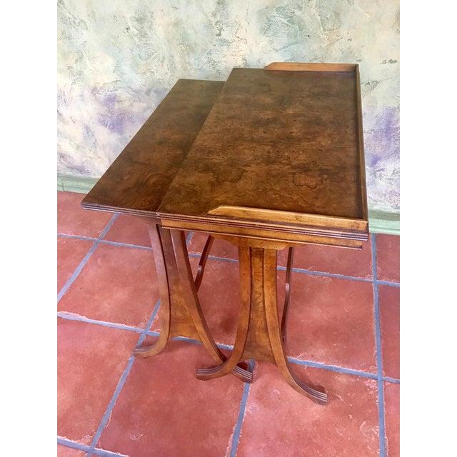 Traditional Baker Furniture Nesting Tables - Set of 2 For Sale - Image 3 of 13