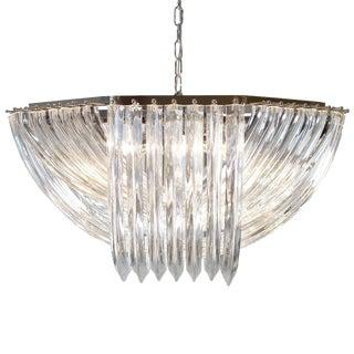 "Customizable Murano Glass ""Curve"" Chandelier"