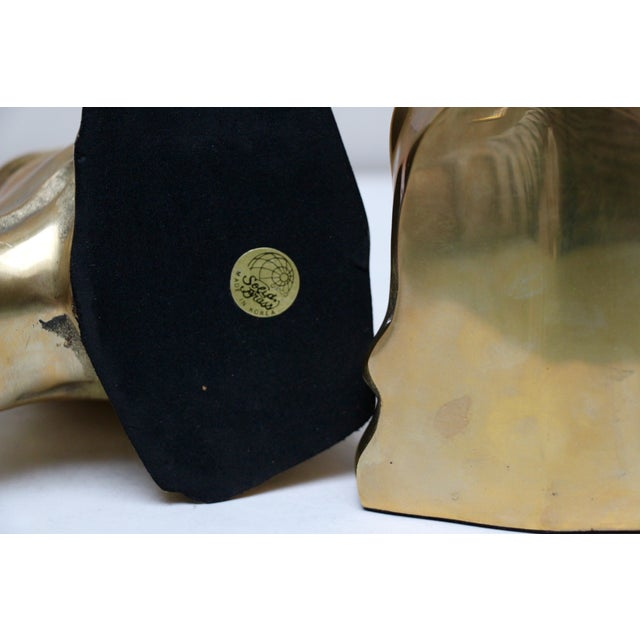 Solid Brass Labrador Bookends - A Pair - Image 8 of 8