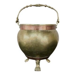 19th Century Copper & Brass Jardiniere For Sale