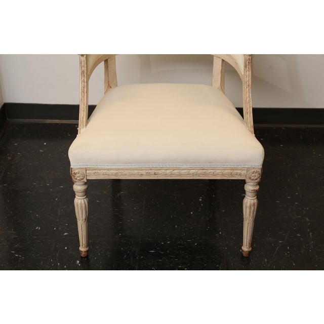 Pair of 19th Century Gustavian Barrel Back Chairs - Image 4 of 10