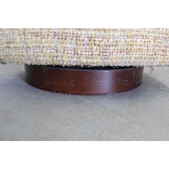 Mid-Century Modern Milo Baughman Thayer Coggin Swivel Rocker Lounge Chair For Sale - Image 10 of 13
