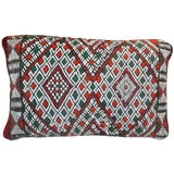 Image of Intricate Diamonds Moroccan Pillow For Sale