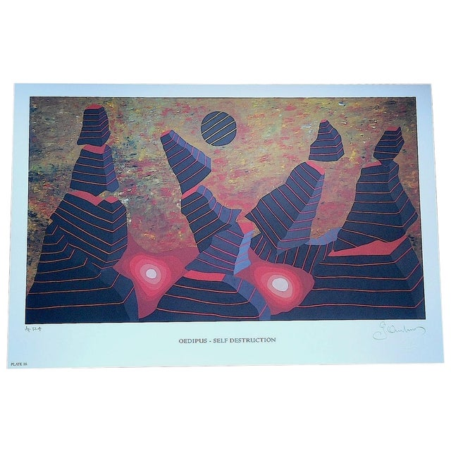 Monographia Lithograph by George Andreas - Image 1 of 4