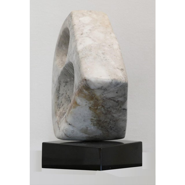 Abstract Harry Weltchek's Stone Sculpture, 1992 For Sale - Image 3 of 6