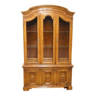 "Thomasville Furniture Cellini Collection 50"" China Cabinet For Sale"