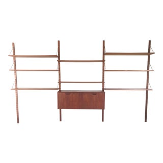 Scandinavian Modern Omnibus Wall Unit by Raymor For Sale