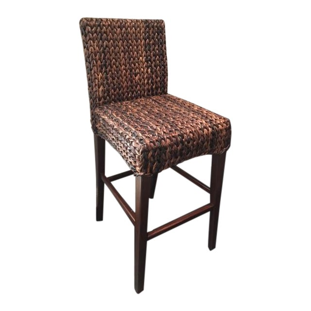 Wicker Bar Stools - Set of 4 - Image 1 of 8