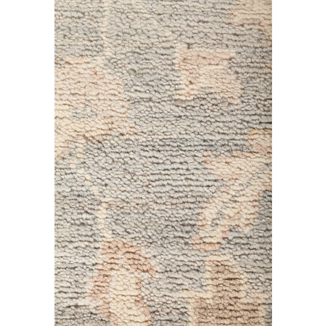"Oushak Hand Knotted Area Rug - 8' 10"" X 11' 8"" - Image 3 of 4"